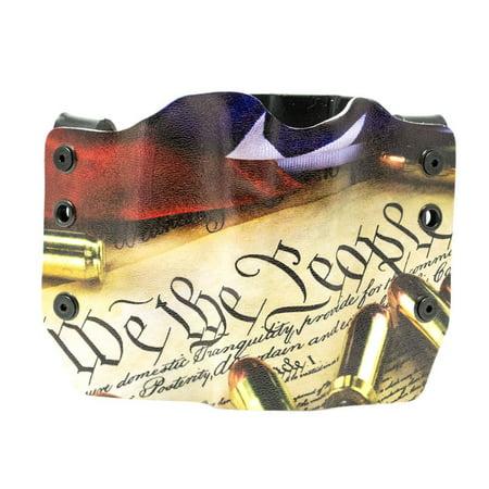 Outlaw Holsters: We The People Bullets OWB Kydex Gun Holster for SW  J-Frame, Left Handed