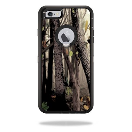 MightySkins Protective Vinyl Skin Decal Cover for OtterBox Defender iPhone 6/6S Plus Case Cover Sticker Skins Tree - Skin Case Sticker
