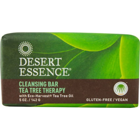 Desert Essence Cleansing Bar, Tea Tree Therapy - 5 oz