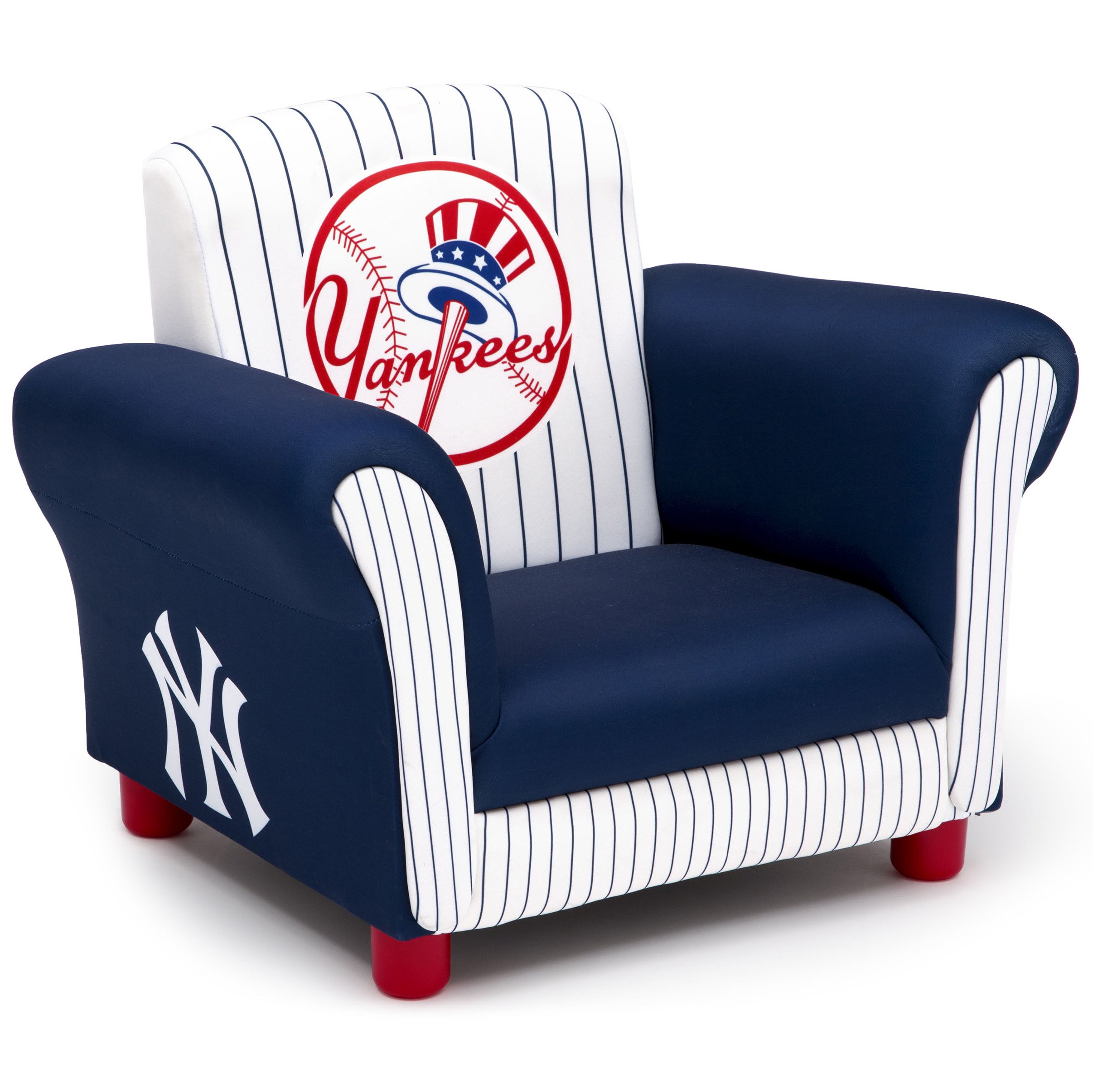 Gentil New York Yankees Kids Upholstered Chair