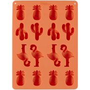wilton tropical silicone candy mold 16 cavity - Christmas Candy Molds