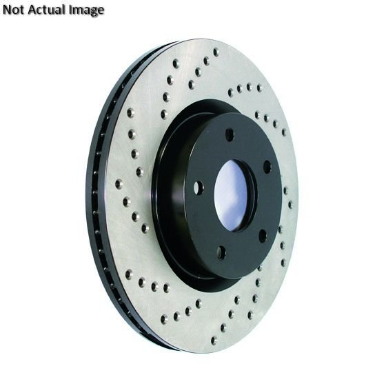 Rides2Racers StopTech Sport Drilled Disc 2002-2006 Acura