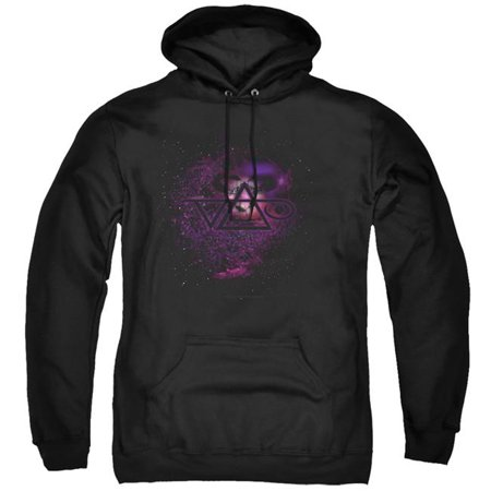 Trevco Sportswear BAND412-AFTH-1 Steve Vai & Vai Universe-Adult Pull-Over Hoodie, Black - Small - image 1 de 1