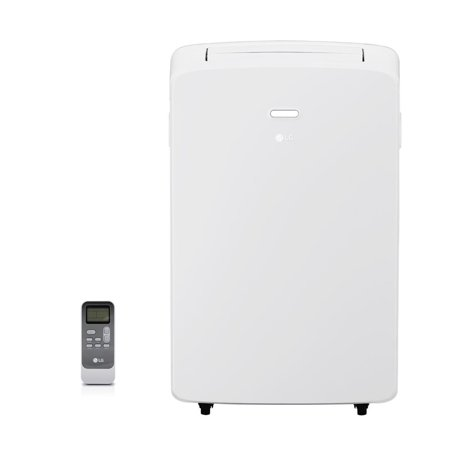 LG 10,000 BTU Portable Air Conditioner 115V, With Remote, Window Kit, Factory-Reconditioned