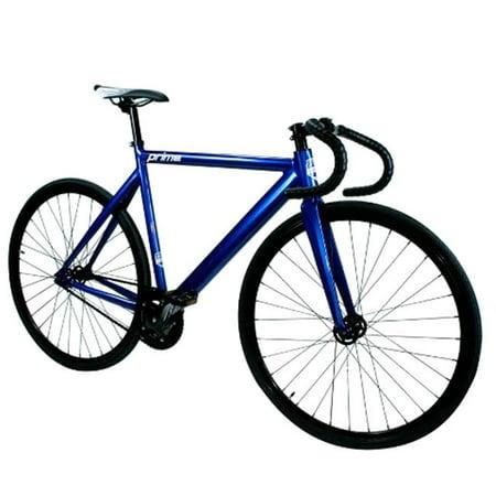 Zycle Fix ZFPRAL-ANBL-55 Prime Alloy Track Bike, Anodized Blue - Size -