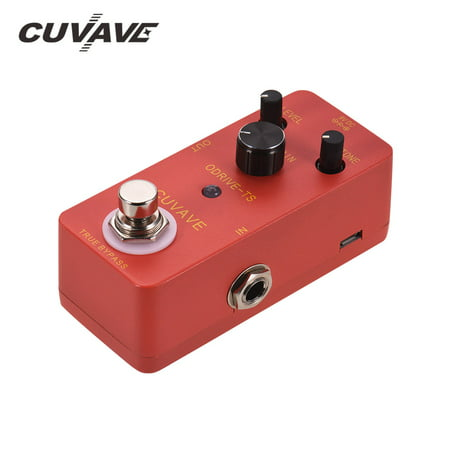CUVAVE ODRIVE-TS Analog Overdrive Guitar Effect Pedal Zinc Alloy Shell True Bypass - image 6 de 6