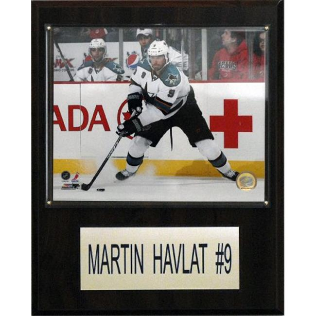 C&I Collectables NHL 12x15 Martin Havlat San Jose Sharks Player Plaque
