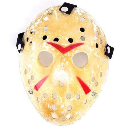 Adult Jason Horror Freddy Scary Hockey Mask Friday Halloween Costume Accessory (Halloween Scary Costumes)