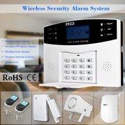 Best Alarm Systems - Wireless GSM SMS Home Burglar Alarm System Detector Review