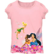 Disney Fairies - Flowery Fairies Juvy Girls T-Shirt
