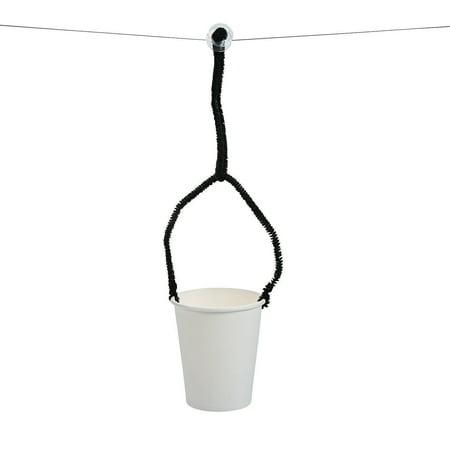 Fun Express - Diy Stem Zipline ck - Craft Kits - Hanging Decor Craft Kits - Misc Hanging Decor Craft Kits - 10 Pieces](Zipline Fun)
