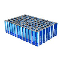 Westinghouse Dynamo Alkaline AA (96 counts) in 2 Plastic Reusable Cases