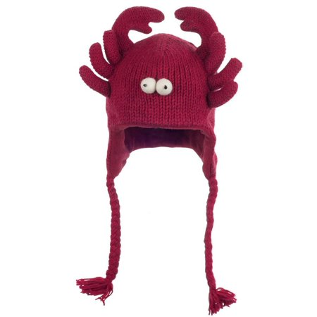 Lobster Kids Peruvian Knit Hat (Lobster Hat)