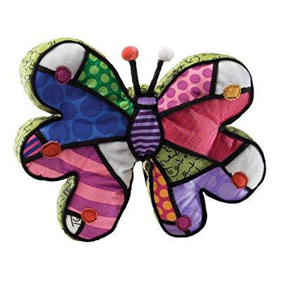 britto by internationally acclaimed artist romero britto for enesco mini butterfly plush