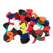 Assorted Guitar Picks  100 PICKS  351 style  Free Shipping