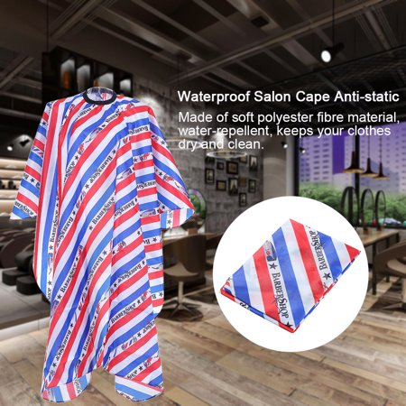 Colorful Salon Cape Hairdressing Gown Waterproof Cloth