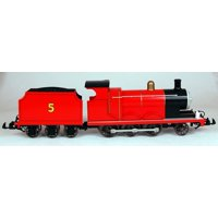 Bachmann G Scale Train (1:22.5) Thomas & Friends Locomotives James The Red Engine 91403