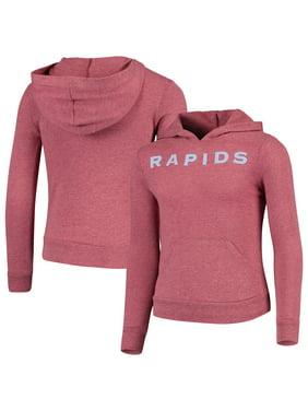 Colorado Rapids 5th & Ocean by New Era Girls Youth Tri-Blend Pullover Hoodie - Burgundy
