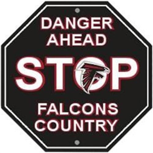 Atlanta Falcons Signsatlanta Falcons Themed Football Man