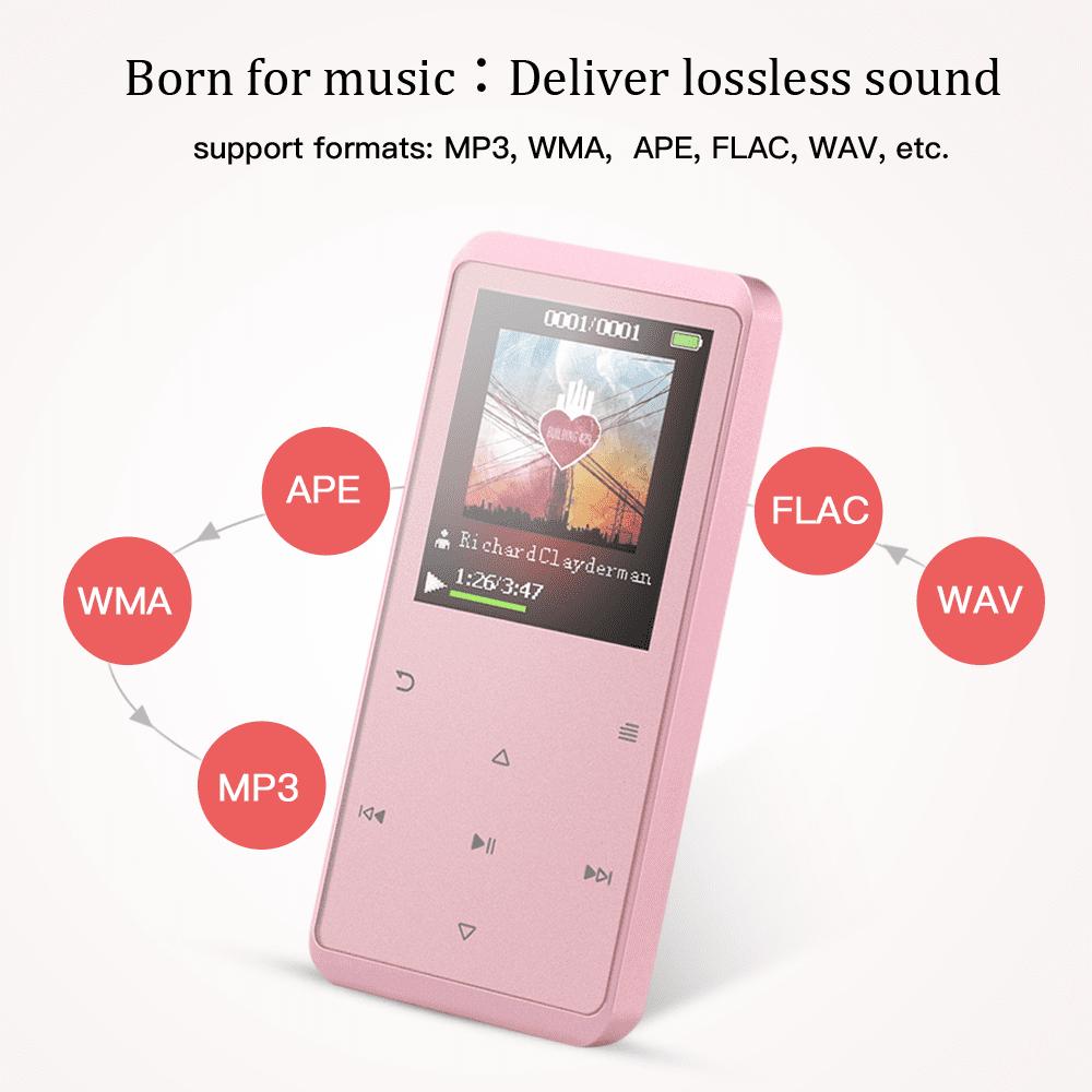 16GB Bluetooth 4 0 MP3 Player with Speaker, AGPTEK music