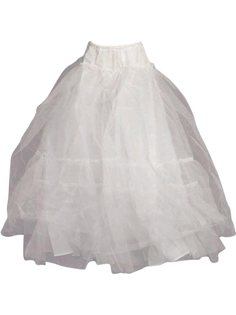 Angels Garment Girls White Multiple Layered Petticoat Underskirt