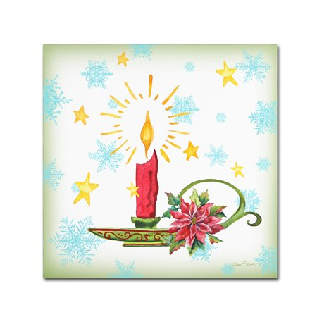 Trademark Fine Art 'Holiday Celebration 6' Canvas Art by Jean Plout