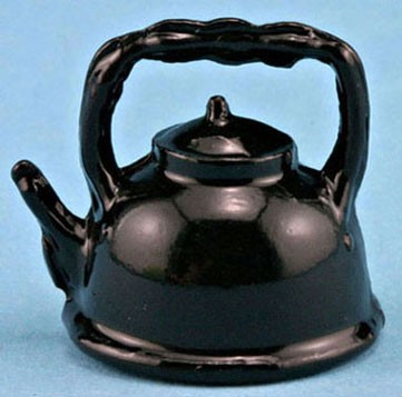 Dollhouse Black Tea Kettle   (026)