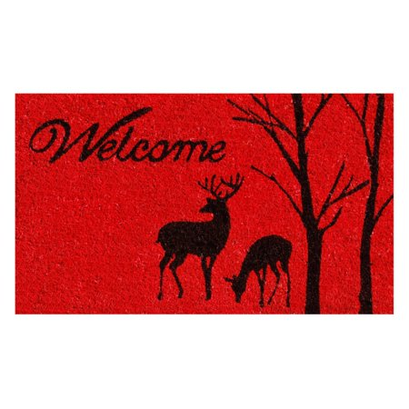 Home & More Winter Welcome Doormat
