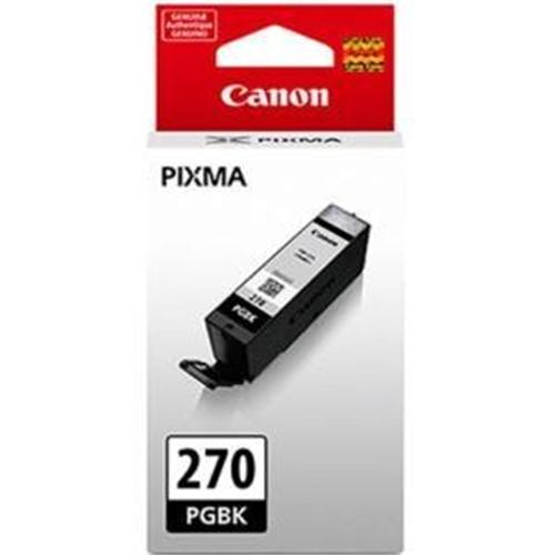Canon PGI-270BK Ink Cartridge - Pigment Black 0373C001
