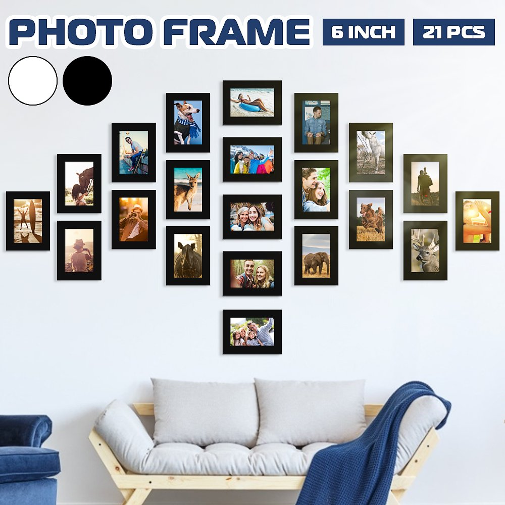 21 Pcs Diy Multi Photo Frame Set
