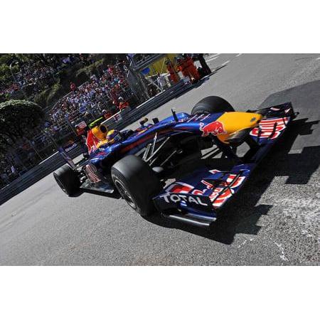 - Mark Webber Poster F1 Red Bull #2