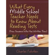 What Every Middle School Teacher Needs to Know about Reading Tests : (From Someone Who Has Written Them)