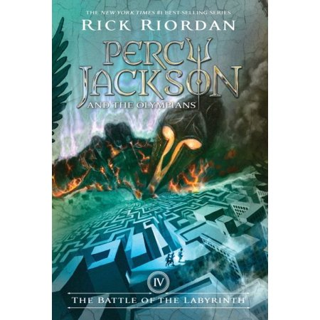 Percy Jackson And The Olympians  Book Four The Battle Of The Labyrinth