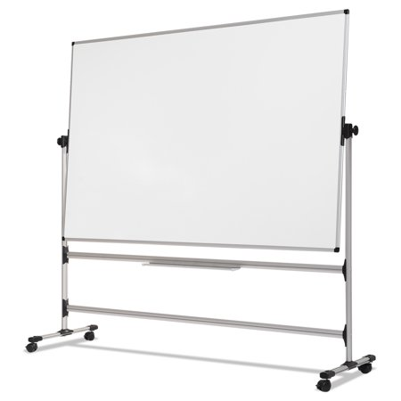 MasterVision Earth Silver Easy Clean Revolver Dry Erase Board, 36 x ...