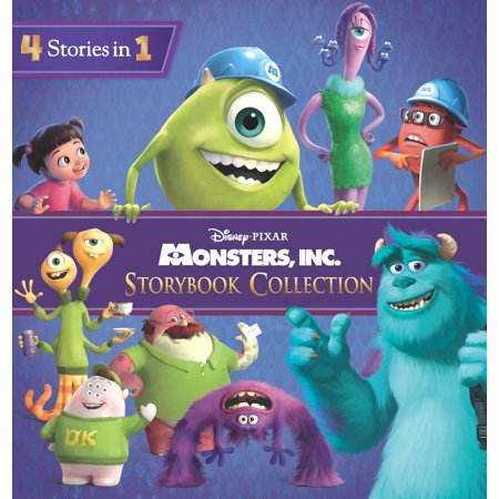 Monsters, Inc. Storybook Collection - eBook](Orange Monster From Monsters Inc)