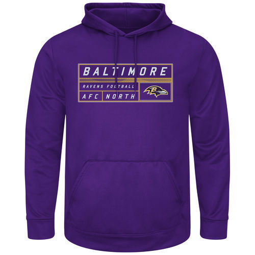 Baltimore Ravens Mens Startling Success Pullover Hoodie by Majestic by