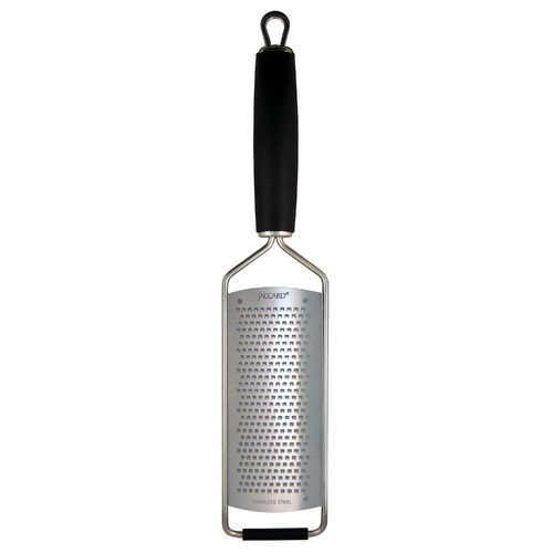 Jaccard 201201GF MicroEdge Stainless Steel Fine Paddle Grater w/ Cover