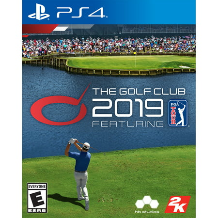 The Golf Club 2019 PGA Tour, 2K, PlayStation 4, (Best Simulation Games 2019)