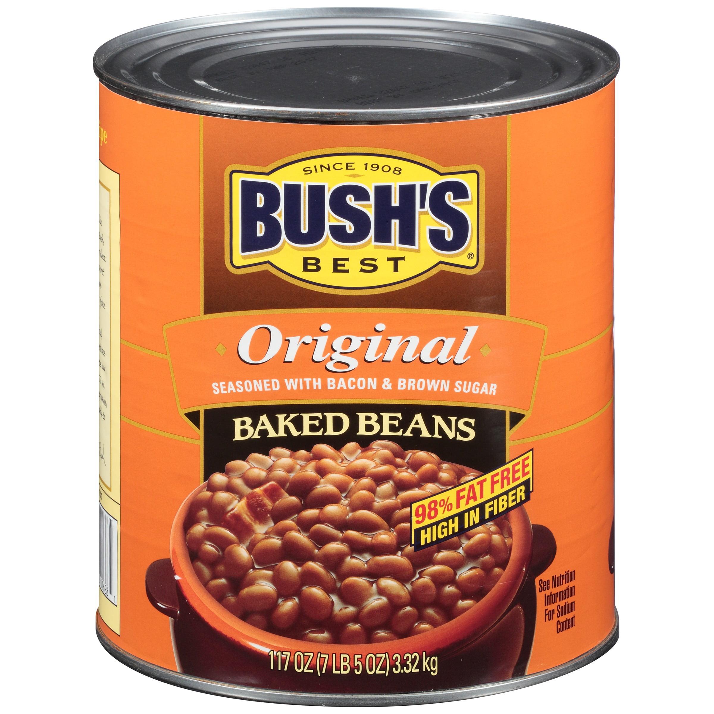BUSH'S BEST Original Baked Beans, 117.0 OZ by Bush Brothers & Company
