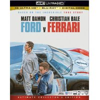 Ford V Ferrari (4K Ultra HD + Blu-ray)