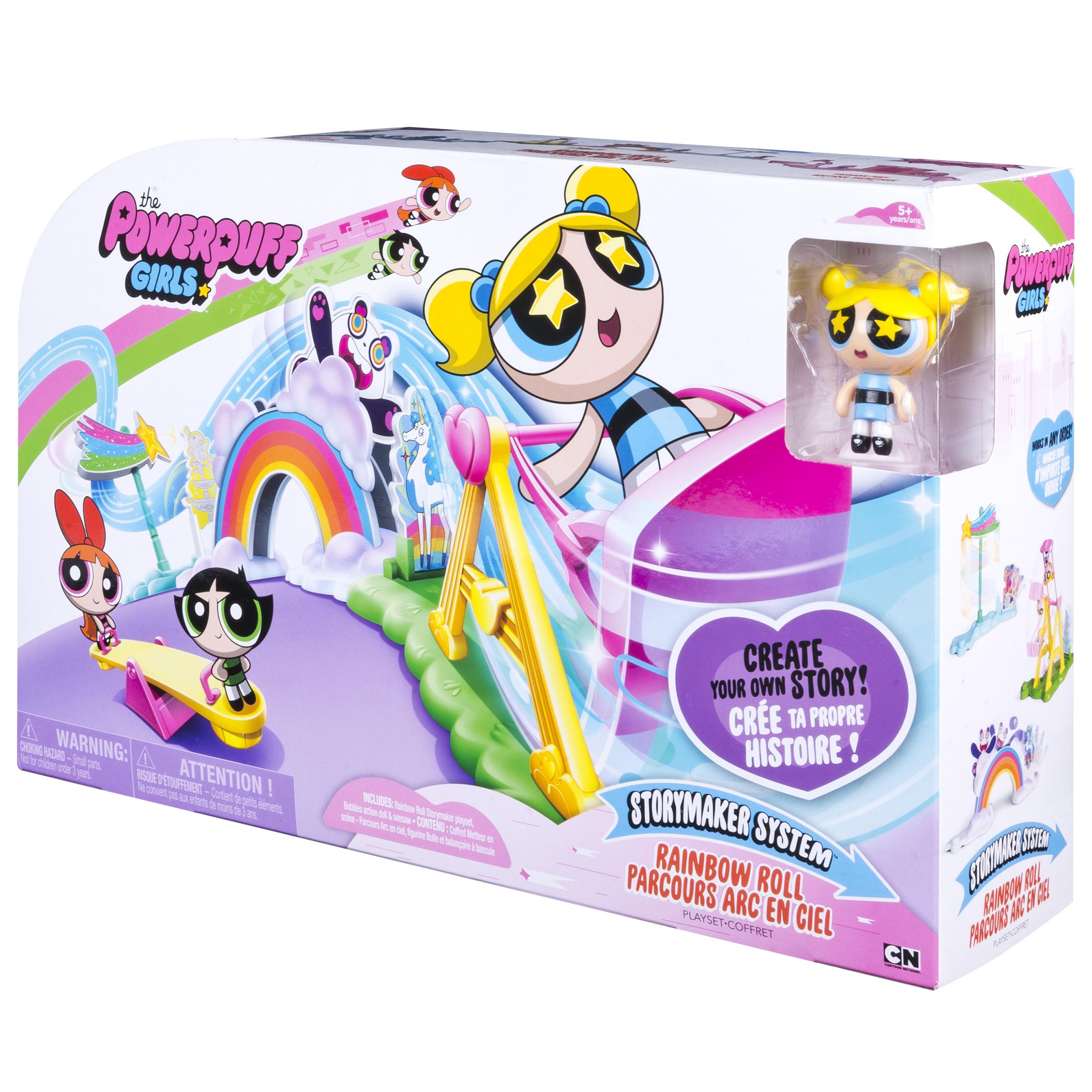 Powerpuff Girls Bedroom Powerpuff Girls Storymaker System Rainbow Roll Playset