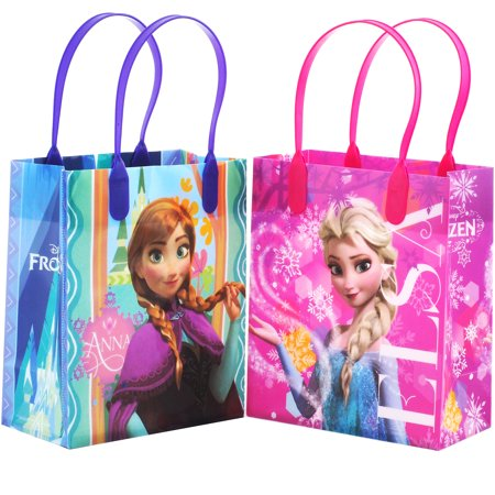 Disney Frozen Snowflake 12 Reusable Party Favors  Small Goodie Gift Bags 6