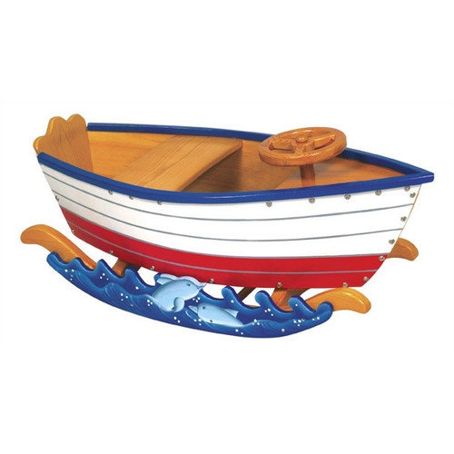 Guidecraft Wooden Runabout Boat Rocker