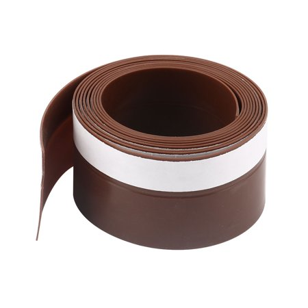 Weather Stripping Silicone Door Bottom Seal Stopper 6.6 Ft Length,1.8 Inch (Installing Weather Stripping On Bottom Of Door)
