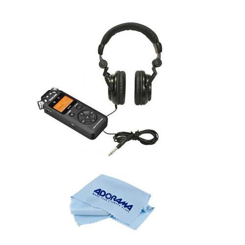 TASCAM DR-05 Portable Handheld Digital Audio Recorder Kit...
