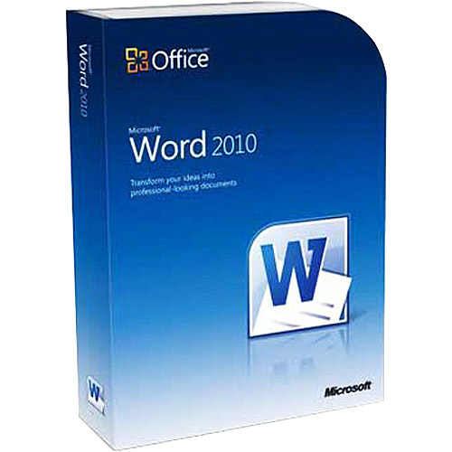Microsoft Word 2010 for Windows
