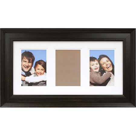 10 x 20 three opening distressed wood frame black
