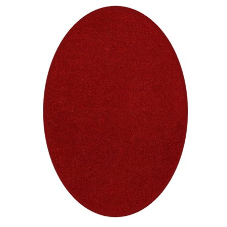 Starwars Collection Kids Favourite Area Rugs Red - 5'x8' Oval