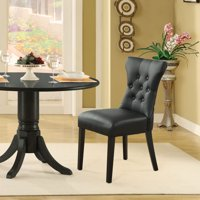 Modway Silhouette Leatherette Dining Side Chair, Multiple Colors