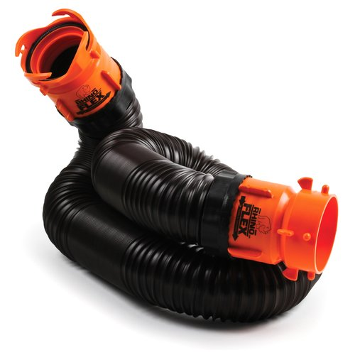 Camco RhinoFLEX Sewer Hose Extension Kit, 10'